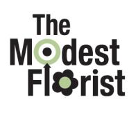 Modest Florist logo